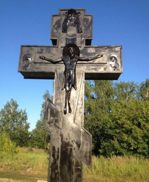 Подозреваемый всносе поклонного креста вТатарстане— член «Справедливой России»