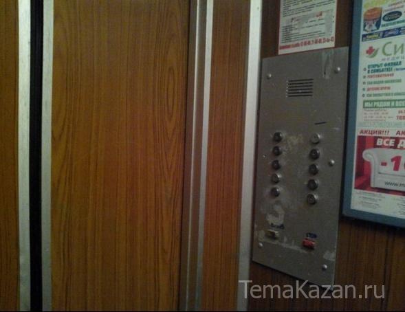 Вказанской многоэтажке свысоты 3-го этажа упал лифт с дамой внутри
