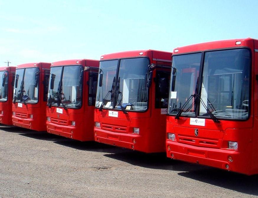 105 новых автобусов выйдут нарейсы вКазани, наочереди 21 троллейбус