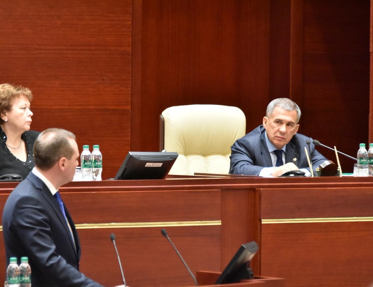 Ищут нарушения исанатора: Минниханов сказал, что происходит сТатфондбанком