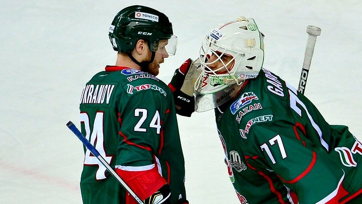 Хоккеисты столичного «Динамо» одолели казанский «АкБарс» побуллитам