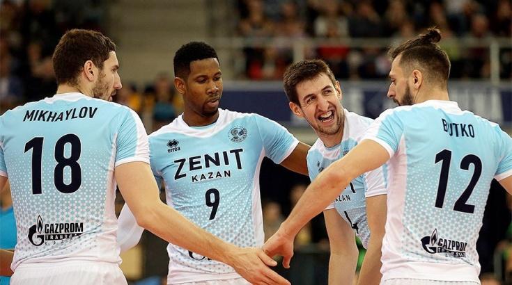 Казанский «Зенит» одержал победу клубный чемпионат мира поволейболу
