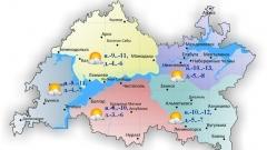 Новости  - Сегодня по Татарстану ожидается облачность с прояснениями