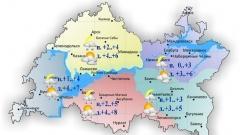 Сегодня по Татарстану небольшие осадки днём