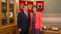 Новости  - Евгения Лодвигова стала первым вице-мэром Казани