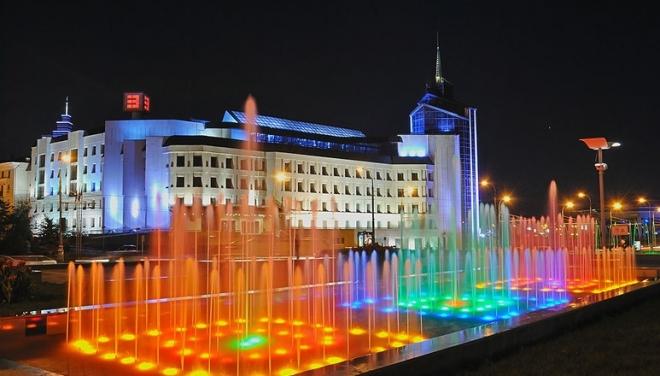 Новости  - Казанские фонтаны перешли на зимний режим