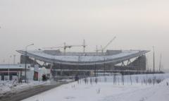 Новости  - В Казани начинают готовить площадку под главную сцену Универсиады