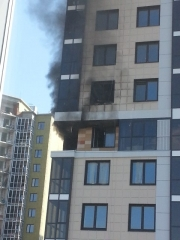 Новости  - В Казани горит новая многоэтажка