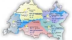 Новости Погода - В Татарстане 7 декабря ожидается мокрый снег