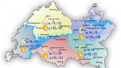 Новости Погода - Температура воздуха днем составит сегодня +20..+25º