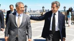 Новости  - Казань посетил бывший президент Франции Николя Саркози