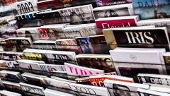 Новости  - В России сократилось количество печатных изданий в разы