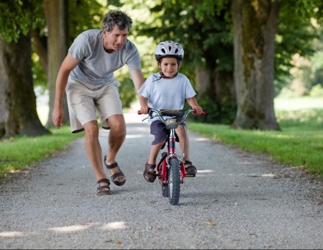 Велосипед для ребенка выбирайте, учитывая его навыки и способности