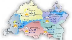 Новости Погода - Сегодня по Татарстану ожидается облачность с прояснениями