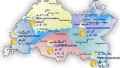 Новости  - Сегодня по республике ожидается облачная погода с прояснениями