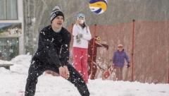 Новости Спорт - В столице Татарстана пройдёт чемпионат по снежному волейболу