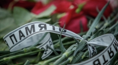 Новости  - В аэропорту Казани сегодня прошел траурный митинг