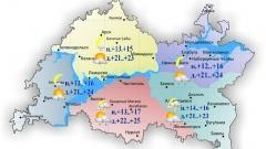 25 июня в Казани и по Татарстану переменная облачность и вероятные осадки