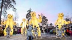 Новости  - В Казани прошло французское шоу ростовых кукол