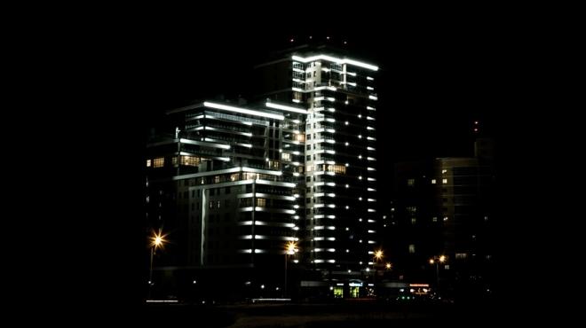 В столице Татарстана провели еще 73 км линий освещения