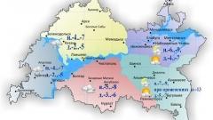 Сегодня по Татарстану осадков не ожидается