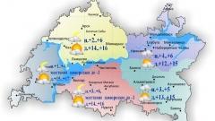 Новости Погода - По Татарстану ожидаются заморозки