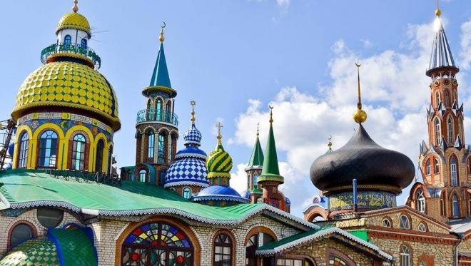 Новости  - Храм всех религий снова открыт для посетителей