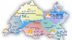 Новости  - Сегодня по республике ожидается облачность с прояснениями