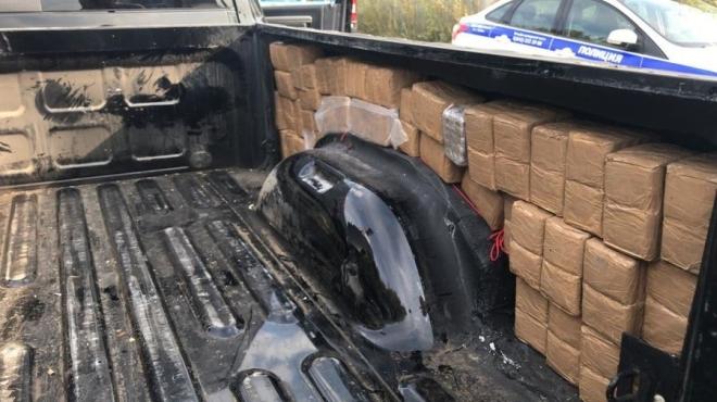 В Казани в автомобиле нашли больше 100 кг наркотиков