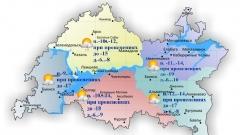 Сегодня по Татарстану местами небольшой снег