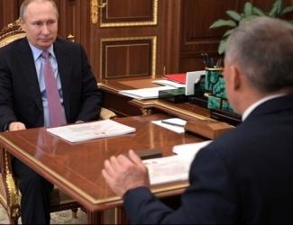 Минниханов отчитался перед Путиным о делах в банковском секторе РТ