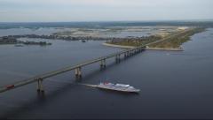 Ремонт Займищенского моста через Волгу полностью завершен