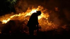 Новости Происшествия - В Набережных Челнах случилась трагедия: на пожаре погибли отец и дочь