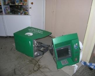 В Казани неизвестные взорвали и ограбили банкомат «Сбербанка»