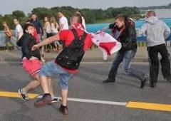 Новости  - Массовую драку болельщиков «Рубина» и «Крыльев Советов» с трудом удалось предотвратить