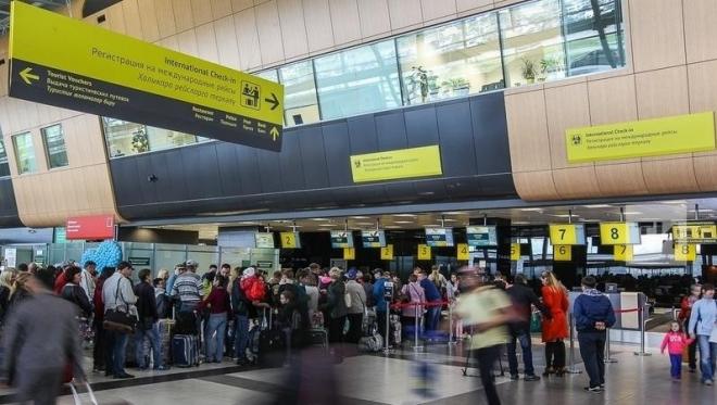 В аэропорту Казани открылся участок для голосования