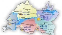 Новости Погода - Сегодня на востоке республики столбик термометра поднимется до +32..+37˚