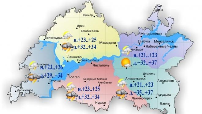 Новости  - Сегодня на востоке республики столбик термометра поднимется до +32..+37˚