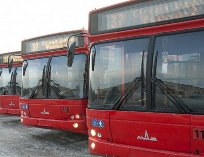 Общественный транспорт Казани работает в штатном режиме