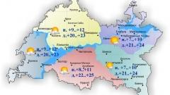 Новости  - 6 мая в Казани и по Татарстану ожидается переменная облачность