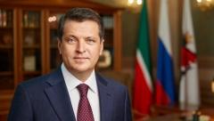 Мэр Казани поздравил жителей города с Днем защитника Отечества