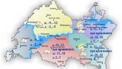 Новости Погода - 18 января в Казани и по Татарстану температура днем опустится до -2..-7˚