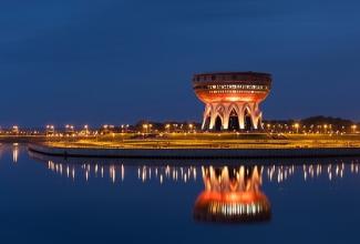 В Казани открывается смотровая площадка Чаши