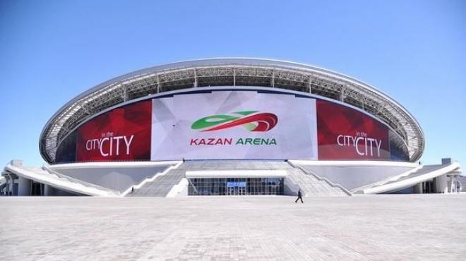 Стадион «Казань Арена» переименуют на «Ак Барс Банк Арена»