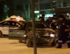 Новости  - ЧП в аэропорту Казани: пьяный водитель протаранил здание терминала