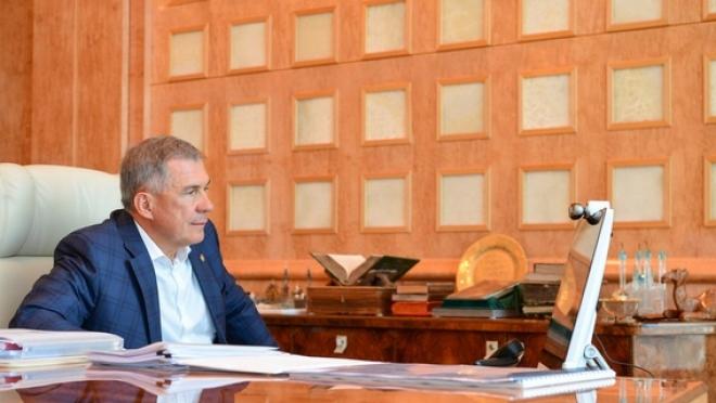 Рустам Минниханов намерен выдвигаться на новый президентский срок