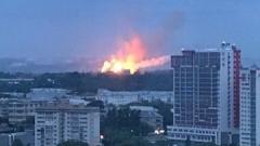Новости  - Ночью на Казанском пороховом заводе вспыхнул пожар