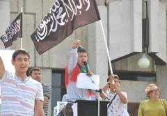 Новости  - С исламистского митинга противников ваххабизма выгнали при помощи полиции