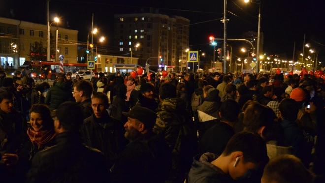 Накануне прошли митинги в поддержку Навального