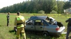 Новости  - Лобовое столкновение в Татарстане: в машине находилось пять детей